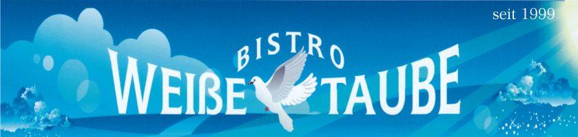 Bistro-Weiße Taube